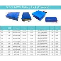 3.2V LifePO4 Battery Pack (Prismatic)