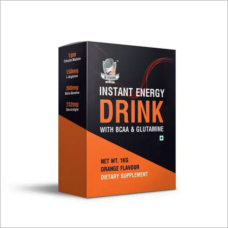 Instant Energy Drink with BCAA & Glutamine