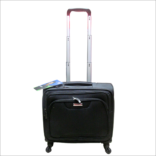 Black Laptop Trolley Bag