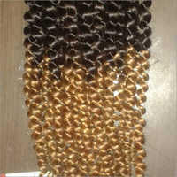 Double Tone Curly Human Hair