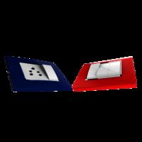 Press Fit Palazzo Modular Electrical Switch Plate