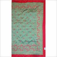 Ladies Ethnic Embroidery Saree