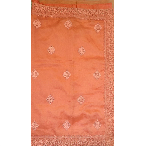 Ladies Cotton Embroidery Saree