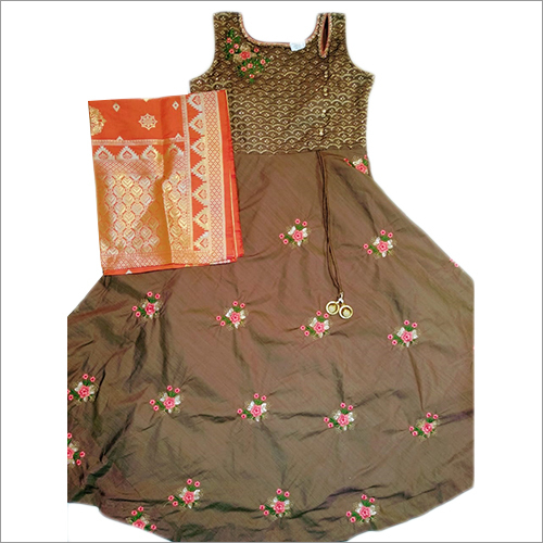 Ladies Floor Length Kurti Dress