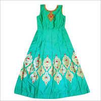 Ladies Ethnic Gown Dress
