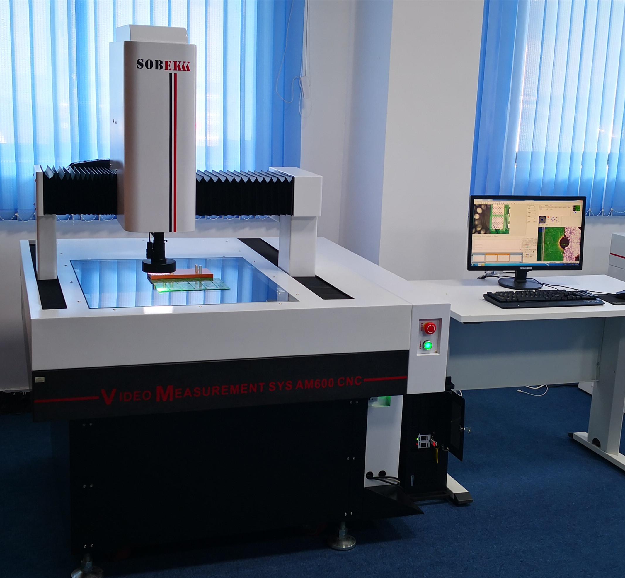Bridge Style CNC Video Measuring Machine