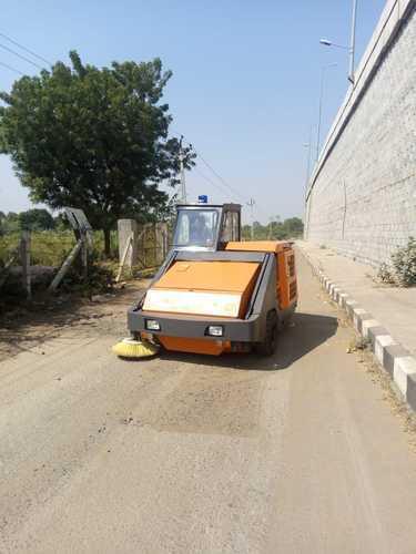Dust Sweeper Machine