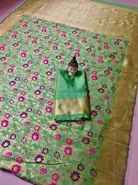 Charming Banarasi Silk Saree