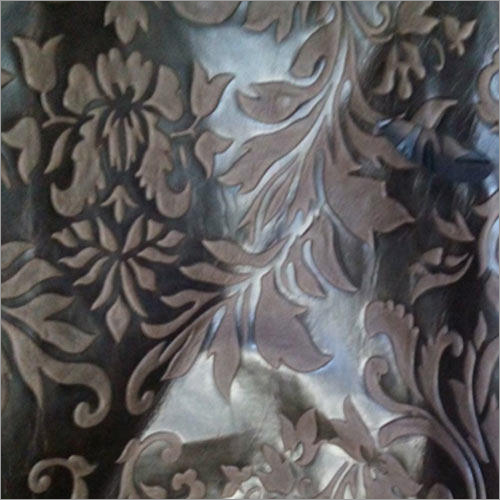 Carved Upholstery Leather