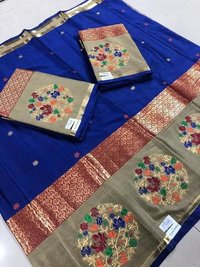 Silk Work Saree