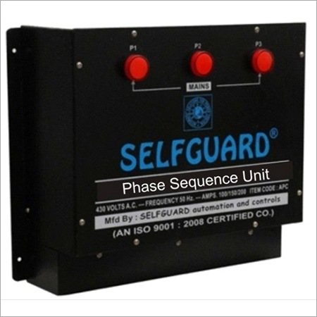 Phase Sequence Unit (Three Phase)