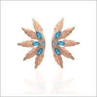 Ladies Designer Topaz Earring
