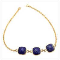 Ladies Lapis Lazuli Gemstone Bracelet