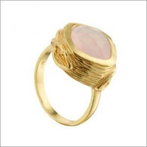Pink Chalcedony Rings