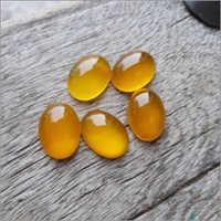 Mango Chalcedony Loose Gemstone