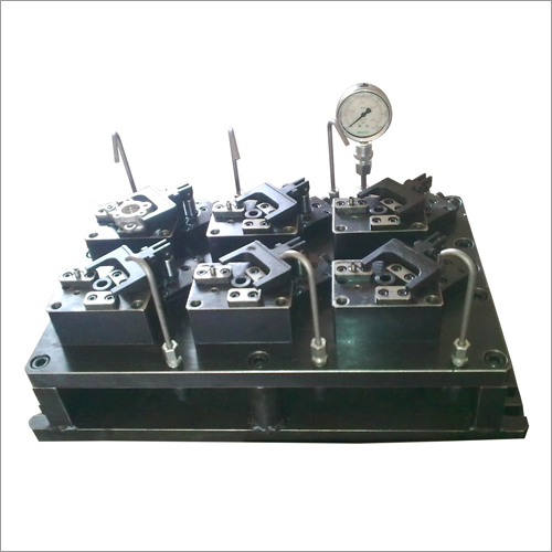 Multi Station Bench Type Hydraulic Fixture