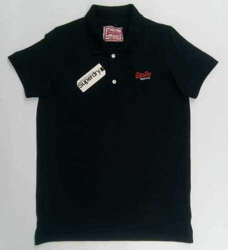 Unisex black tshirt