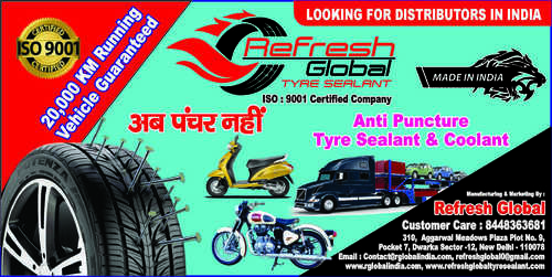 Tyre Sealant Distributorship