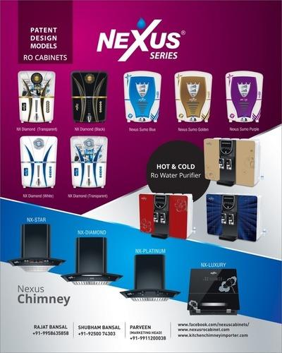 NEXUS RO CABINES AND  KITCHEN CHIMNEY