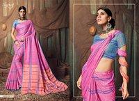 Fancy Linen Sarees