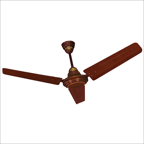 High Speed Glossy Brown Ceiling Fan - 1200 MM