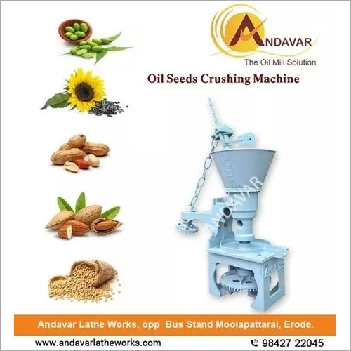 Oil Seeds Crushing Machine
