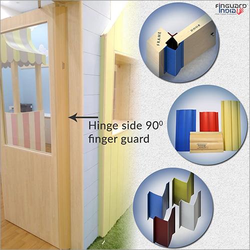 90 Degree Hinge Side Door Finger Guard