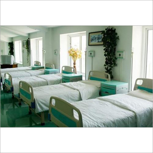 Hospital Cotton Bed Sheet Fabric