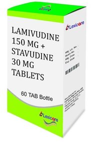 Lamivudine 150 mg and Stavudine 30 mg Tablets