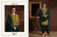 Cotton Designer Patiyala Suits