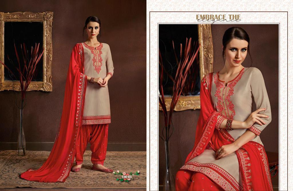 Cotton Designer Patiyala Suits