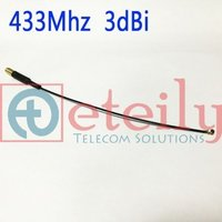 433MHZ Spring Antenna with IPEX Connector