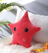 Star Pink Velvet Cushion