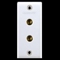 Press Fit Gold 6 Amp. 2-In-1 Socket
