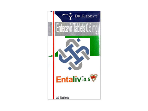 Entaliv Entecavir 0.5mg Tablet
