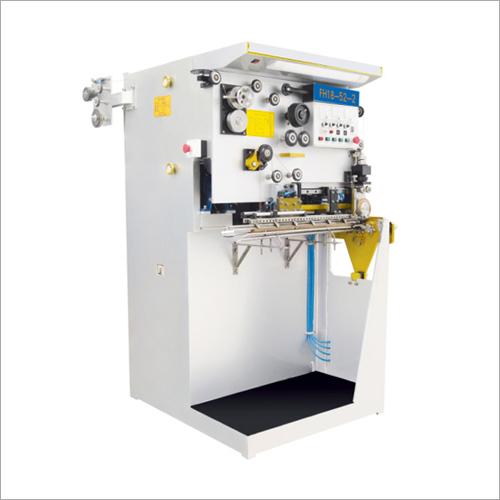 Small Metal Tinplate Paint Aerosol Can Semi Automatic Welding Machine