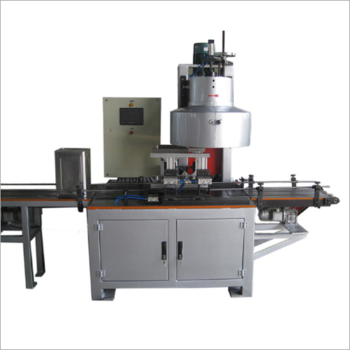 Automatic Big Square Oil Can Seamer Machine