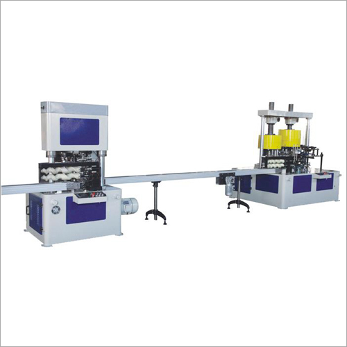 Automatic Aerosol Can Body Necking Flanging Seaming Machine