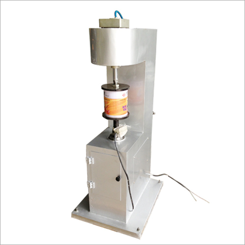 Semi Automatic Food Tin Can Flanging Machine