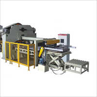 Automatic Tinplate Can Press Punch Machine