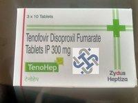 Tenohep Tenofovir disoproxil fumarate 300mg Tablet