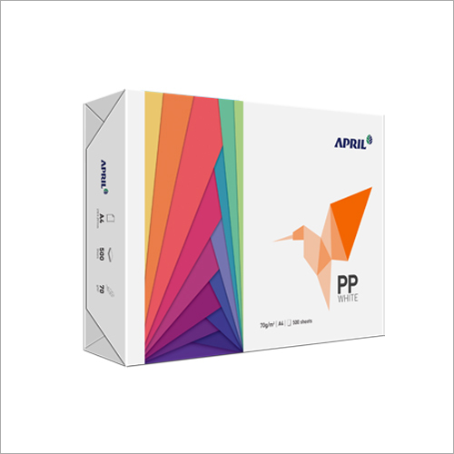PP WHITE High-White, High-Quality Copy Paper for Daily Use