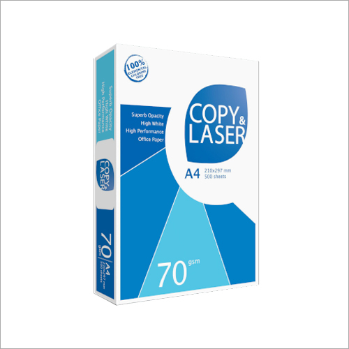 COPY & LASER High-quality copy paper for everyday use 70 GSM A4 Size Paper