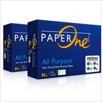 PaperOne Copier 80gsm - Engineered For Problem-Free High Speed And High Volume Printing