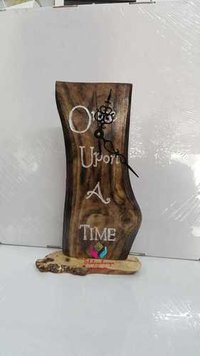 Natural Wooden Table Clock