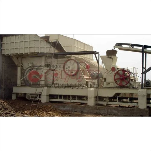 Stationary Jaw Crusher