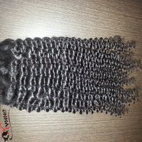 Pure Remy Hair Fresh Unprocessed Temples Single Donor Indian Hair