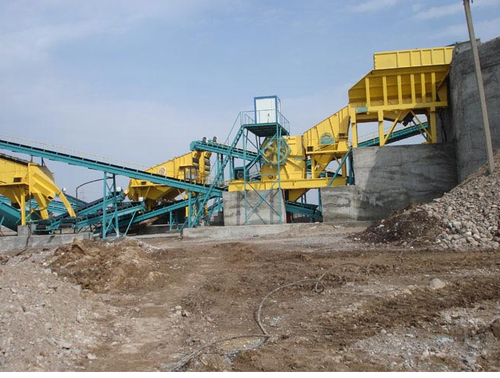 Stationary Cone Crusher