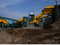 Stationary Cone Crusher Plant