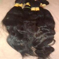 Single Drawn Human Hair Wefts